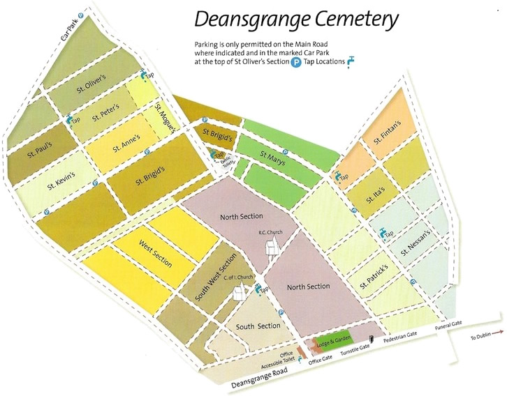 Deansgrange Layout